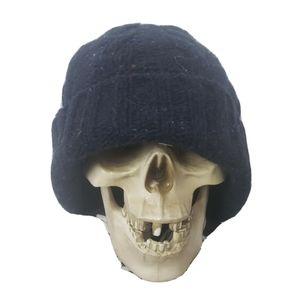 Rag & Bone knit beanie blue speckle new york hat